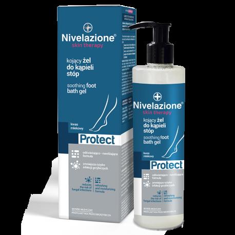 NIVELAZIONE Skin Therapy PROTECT Kojący żel do kąpieli stóp 400 ml