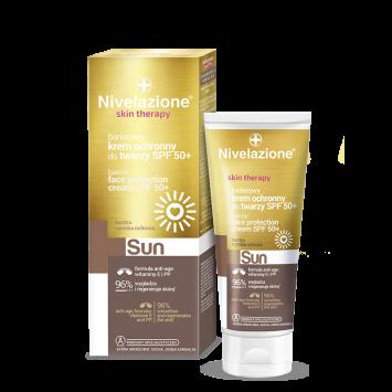 NIVELAZIONE Skin Therapy SUN Barierowy krem ochronny do twarzy SPF 50+ (data ważności 30.04.2021r.)