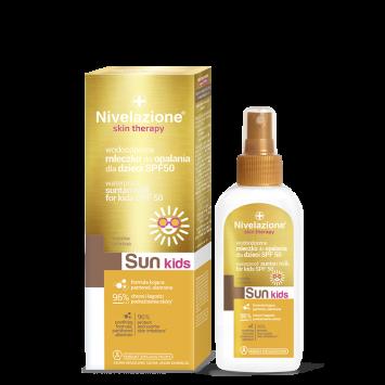 NIVELAZIONE Skin Therapy SUN Wodoodporne mleczko do opalania dla dzieci SPF 50 (data ważności 30.04.2021r.)