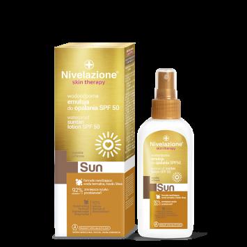 NIVELAZIONE Skin Therapy SUN Wodoodporna emulsja do opalania SPF 50 150 ml (data ważności 30.04.2021r.)