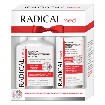 Zestaw Radical med (szampon 300ml, odżywka 200ml)