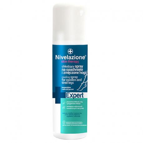 NIVELAZIONE Skin Therapy Expert Chłodzący spray na opuchnięte i zmęczone nogi 150 ml