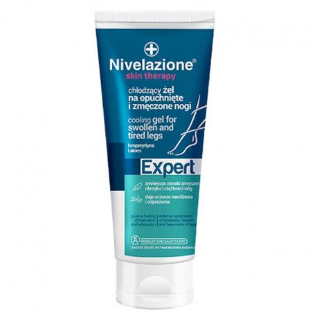 NIVELAZIONE Skin Therapy Expert Chłodzący żel na opuchnięte i zmęczone nogi z kasztanowcem, arniką i hesperydyną 150 ml