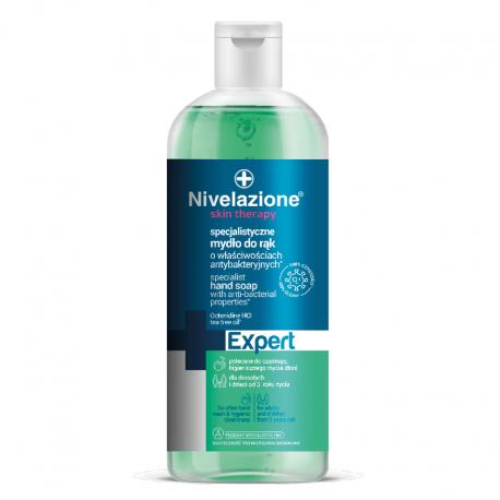 Nivelazione Skin Therapy EXPERT  Specjalistyczne mydło do rąk o właściwościach antybakteryjnych