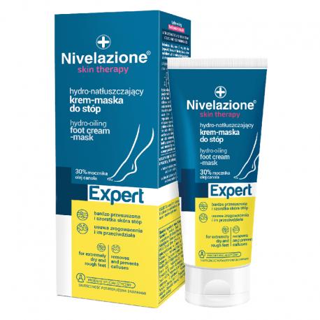 Nivelazione skin therapy EXPERT Hydro-natłuszczający krem-maska do stóp 50 ml