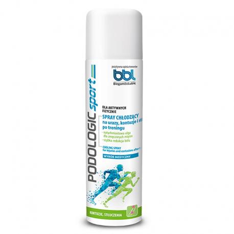 PODOLOGIC SPORT Spray chłodzący na urazy, kontuzje i stłuczenia po treningu 150 ml