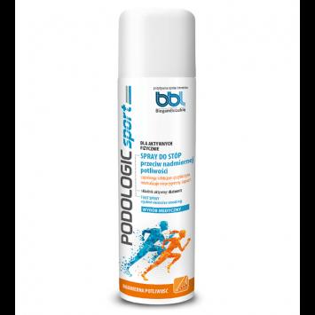PODOLOGIC SPORT Spray do stóp przeciw nadmiernej potliwości 150 ml