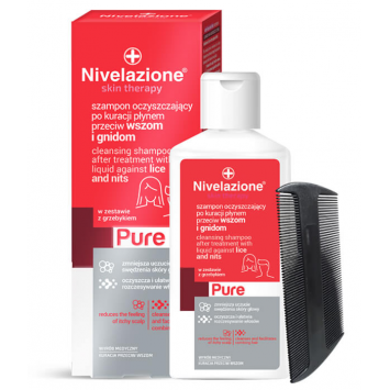 NIVELAZIONE Skin Therapy PURE Szampon przeciw wszom i gnidom 100 ml