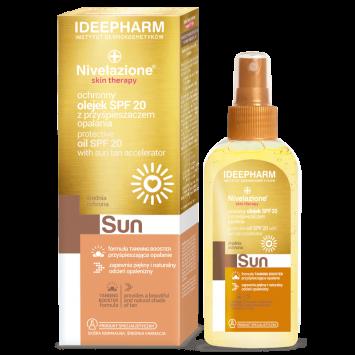 NIVELAZIONE Skin Therapy SUN Ochronny olejek SPF 20 z  przyspieszaczem opalania SPF 20 150 ml