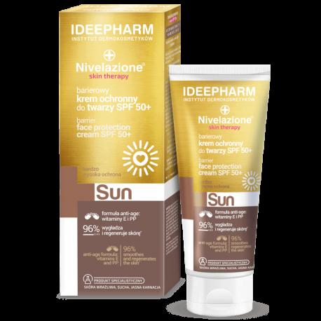 NIVELAZIONE Skin Therapy SUN Barierowy krem ochronny do twarzy SPF 50+